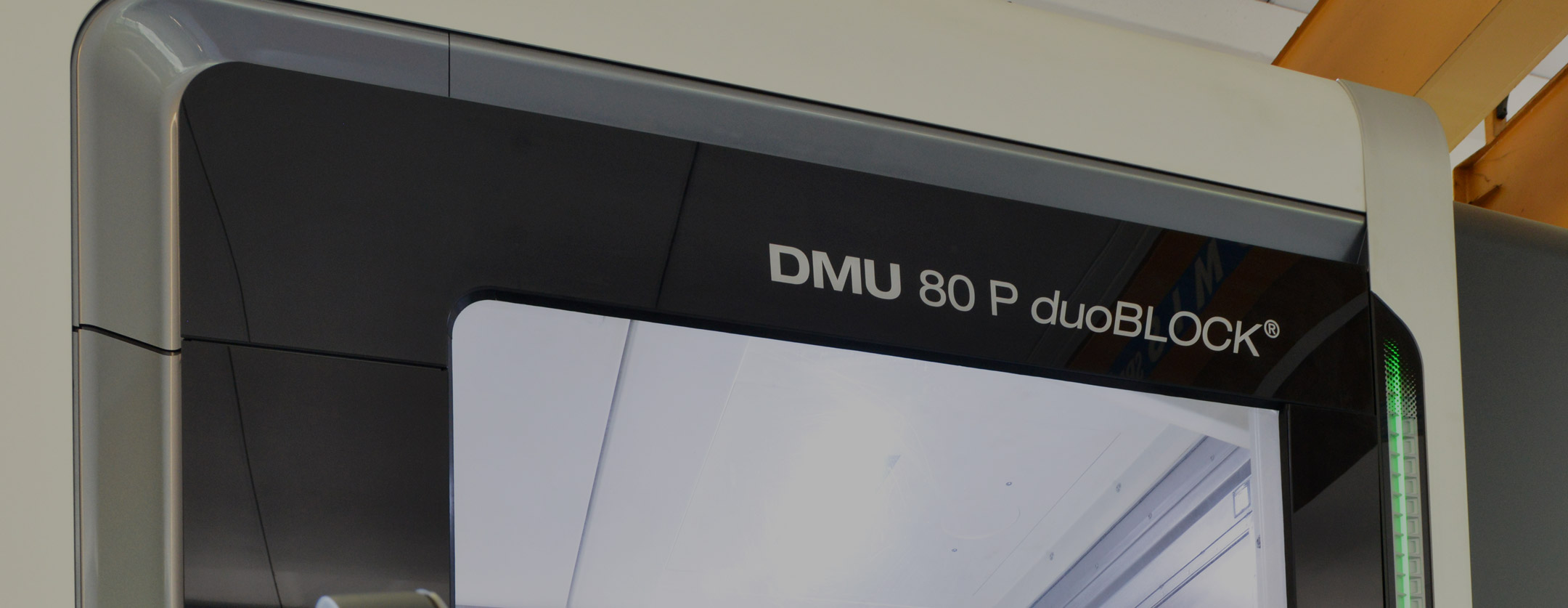 New 5 axis milling centre DMU80 DUOBLOCK